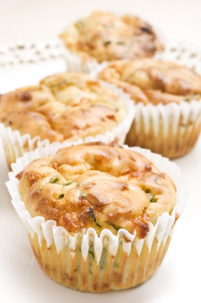 VEGAN MUFFIN AGLI SPINACI